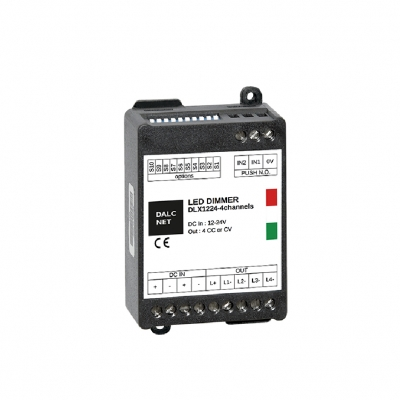 4 Kanal LED Dimmer - Multi Channel 12-24V