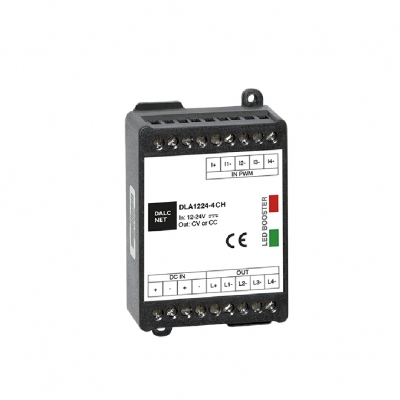 4 Kanal LED Booster - Multi Channel 12-24V