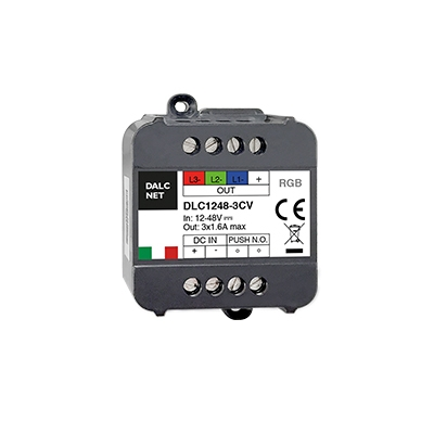 3 Kanal LED Dimmer 12-24V